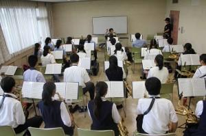 オ-ボエ参加生徒3名 講師加藤幸子氏