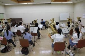 ファゴット参加生徒3名 講師湯本真知子氏