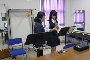 オ-ボエ参加生徒1名講師加藤幸子氏