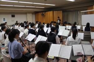クラリネット参加生徒43名講師佐藤拓馬氏