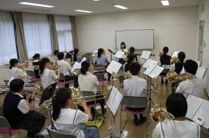 トロンボ-ン参加生徒20名講師駒野逸美氏