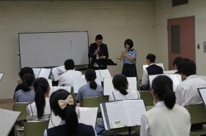トランペット参加生徒25名講師山口友也氏