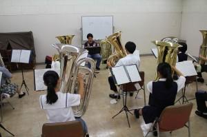 チュ-バ参加生徒12名講師小川平祐氏
