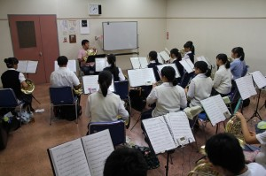 ホルン参加生徒22名講師田中久隆氏