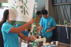 今年も茶業青年団の茶接待がありました